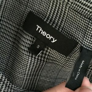 Theory Tops - Theory Orvinio Pinedale Blouse Shirt Wool